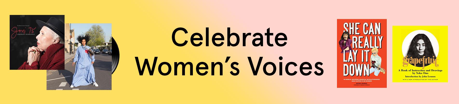 Celebrate Women's Voices