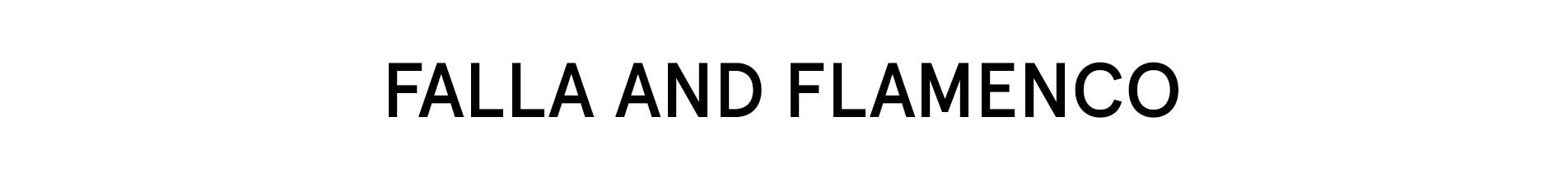 Falla and Flamenco