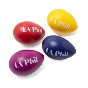 LA Phil Egg Shakers