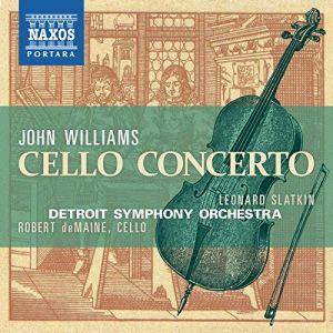 Williams: Cello Concerto (CD)