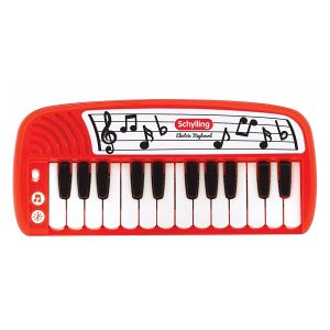 Red Electric Keyboard