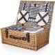 Belmont Picnic Basket (Navy)