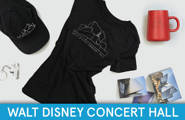 Shop Walt Disney Concert Hall Exclusives