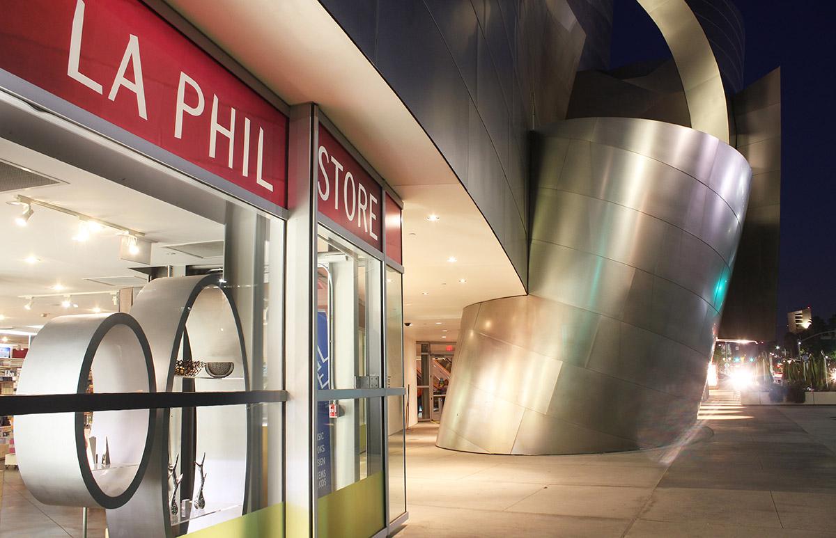 LA Phil Store at Walt Disney Concert Hall