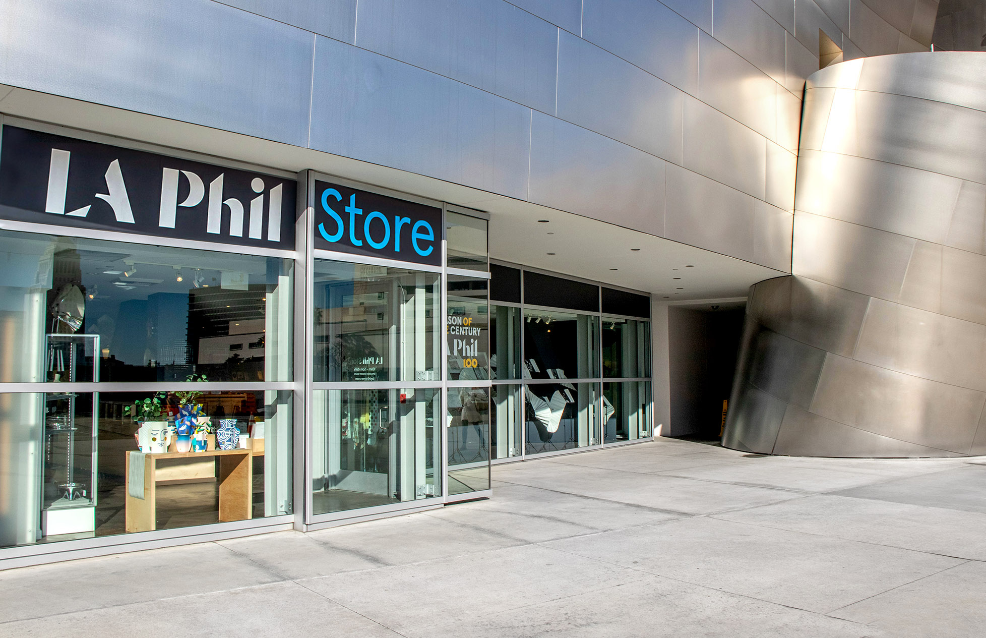 LA Phil Store at Walt Disney Concert Hall